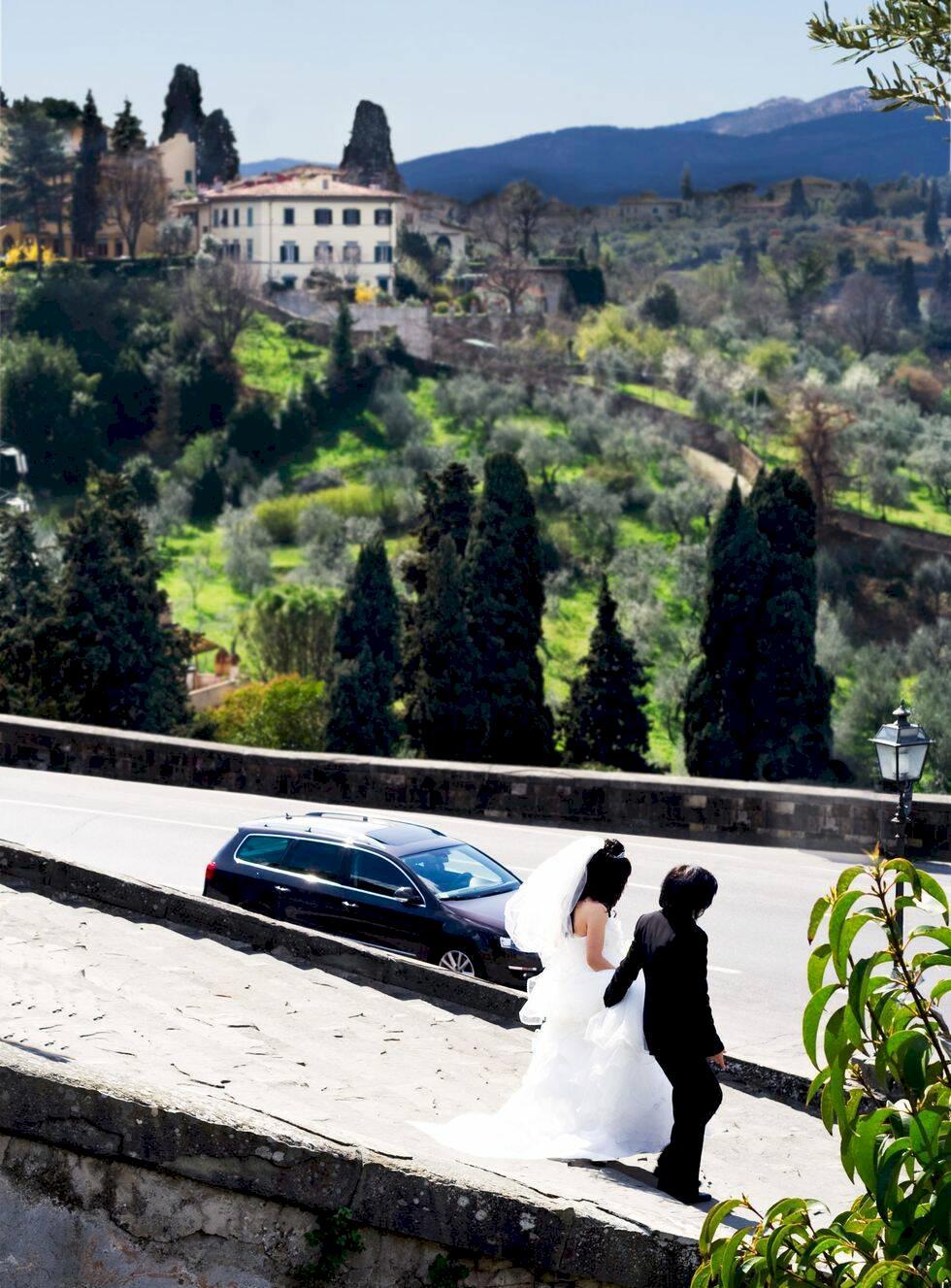 8 drömbröllop för romantiska vagabonder