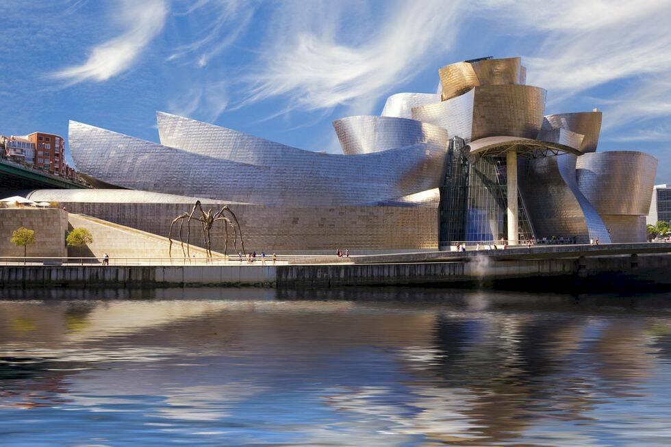 Åtta måsten i Bilbao