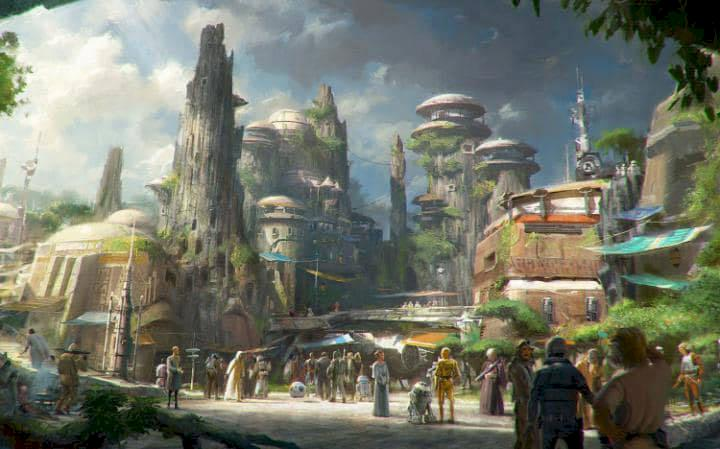 Här öppnar världens första officiella Star Wars-hotell