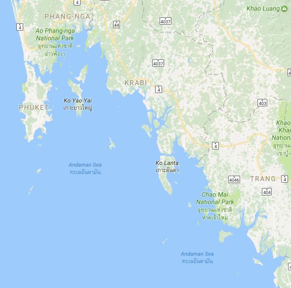 Thailand: Turister varnas för giftiga maneter