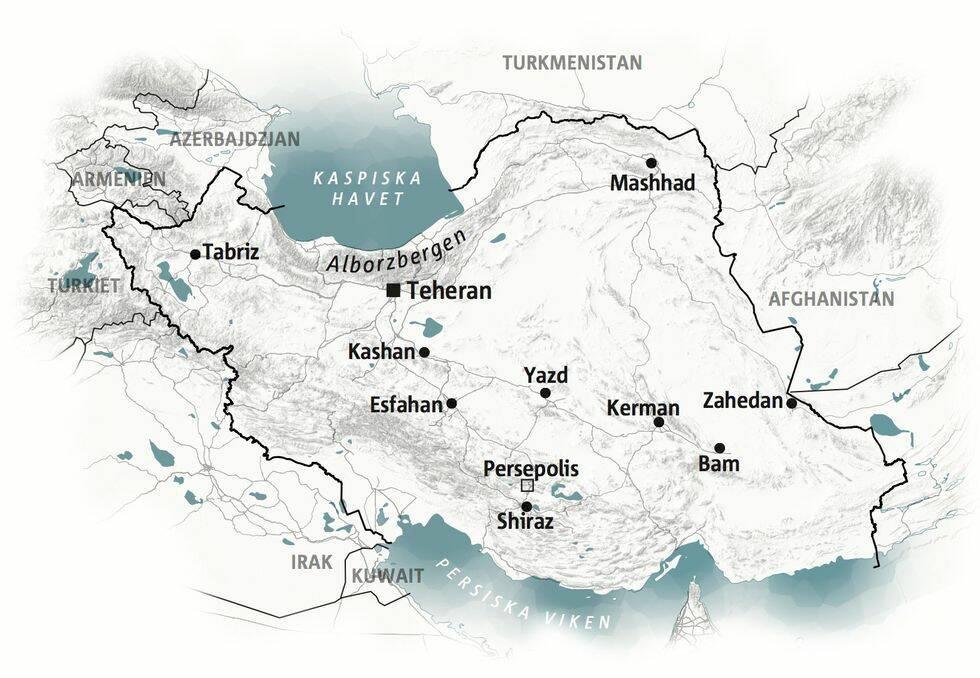 Guide till Iran