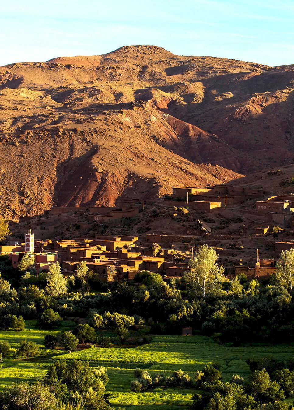 Vandring i Marocko – expedition Atlasbergen