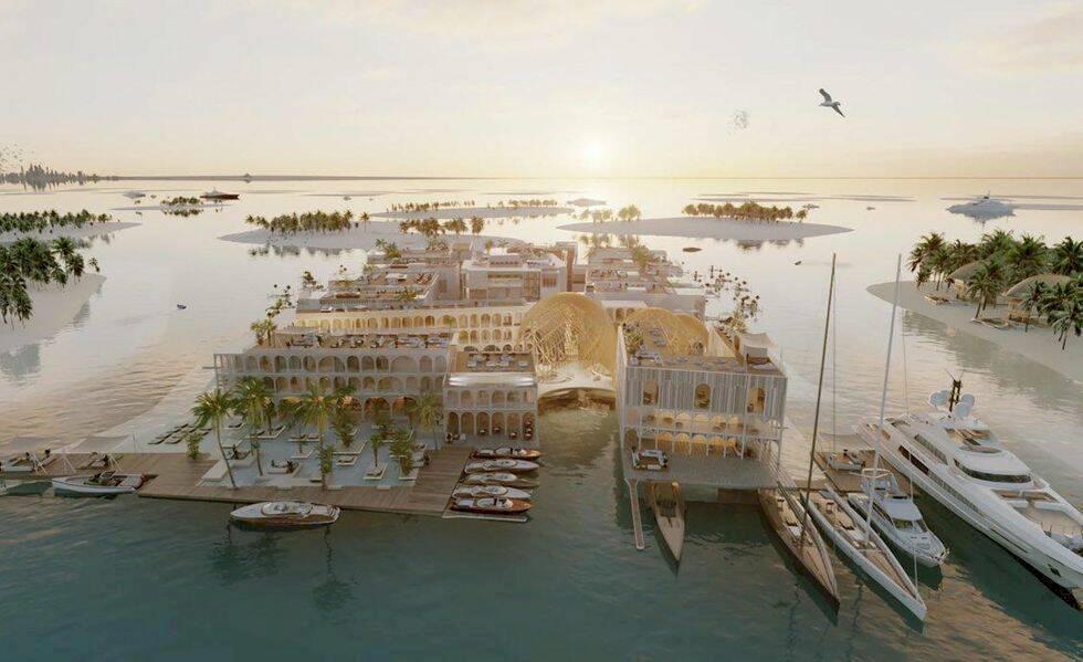 Dubai planerar lyxig kopia av Venedig