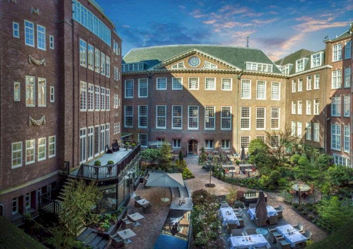 Amsterdams bästa lyxhotell