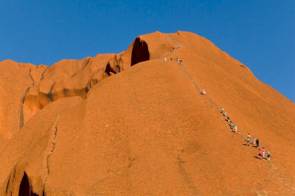 Australien: Därför förbjuds klättrare från att bestiga Uluru
