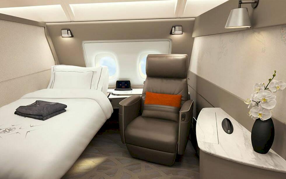 Singapore Airlines nya första-klasskabiner tar lyx till nya höjder