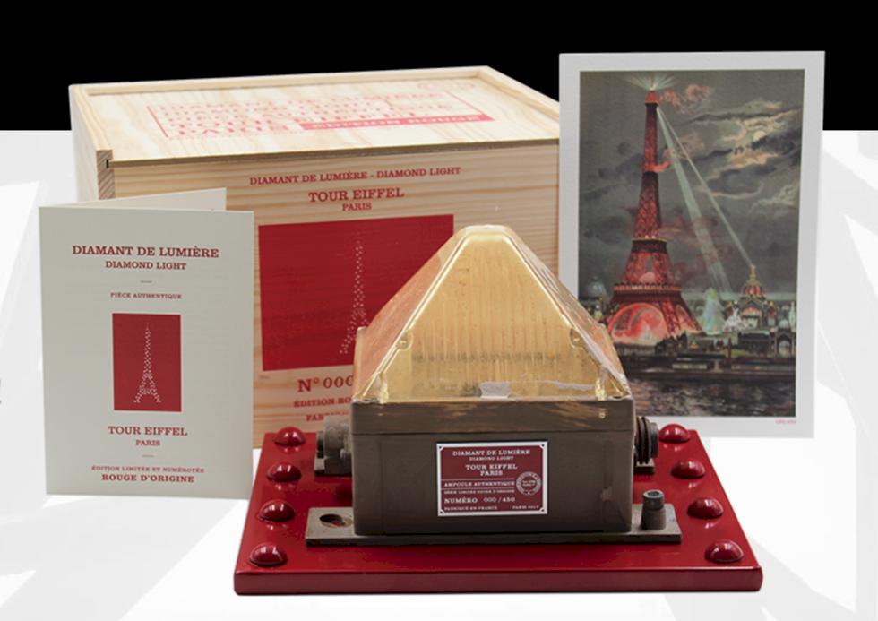 Du kan köpa en del av Eiffeltornet till din kärlek på alla hjärtans dag
