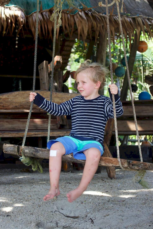 Öluffa med barn i Thailand – 50 dagar i paradiset