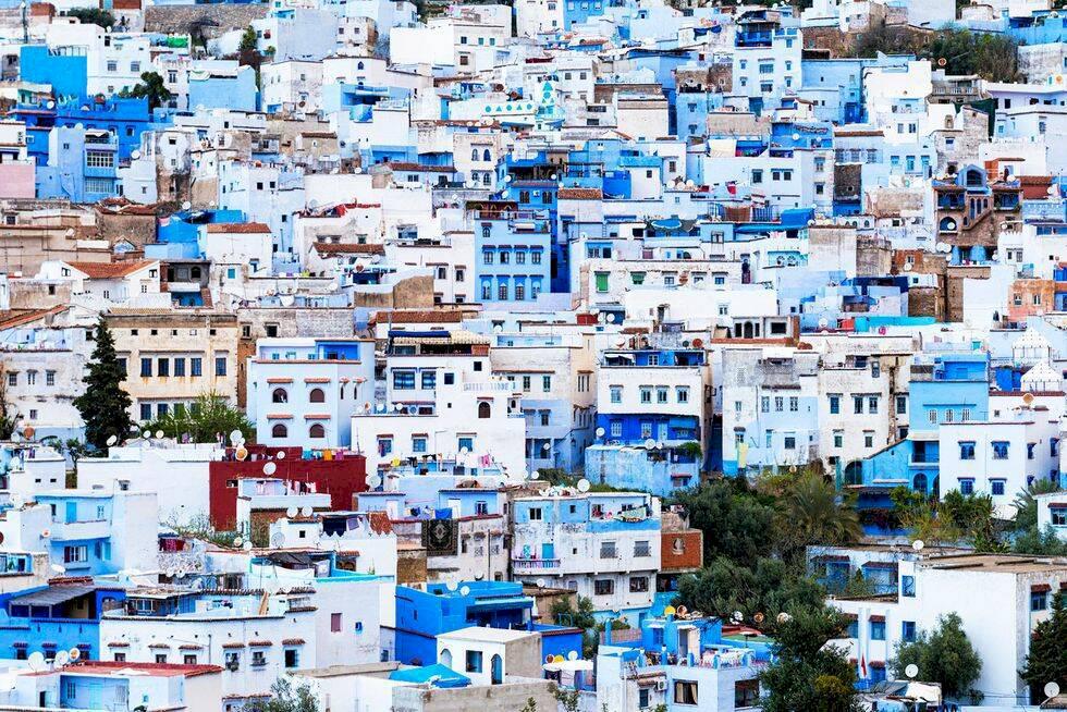 Marockos blå pärla – svårtillgänglig stad bland bergen