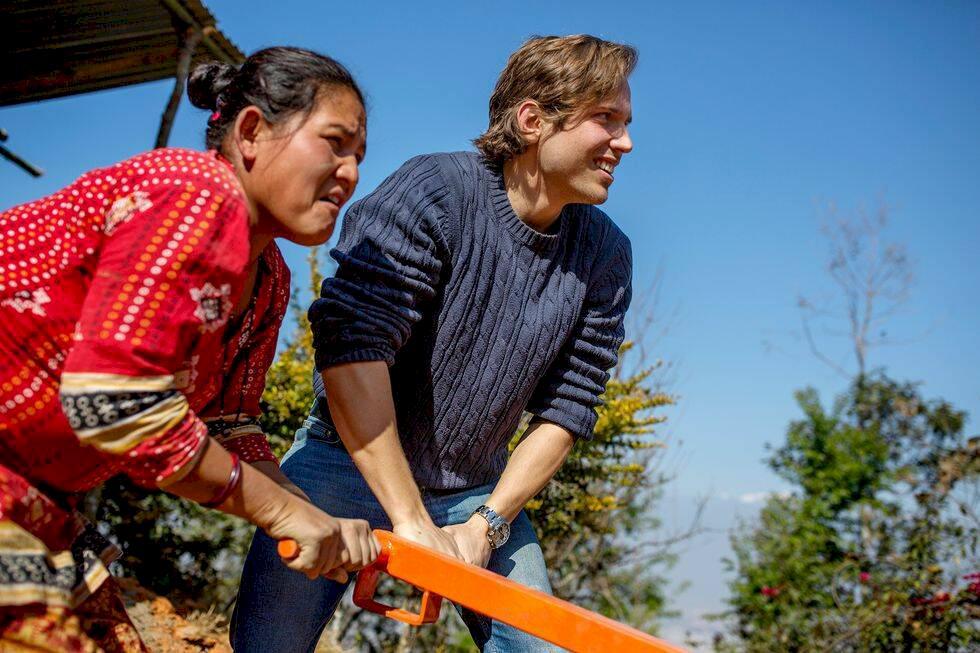 Porträttet: Resenären som ville göra skillnad i Nepal