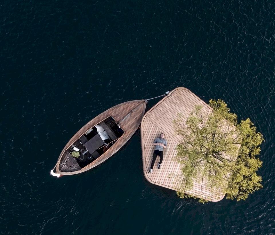 Kolla in Köpenhamns nya flytande öar