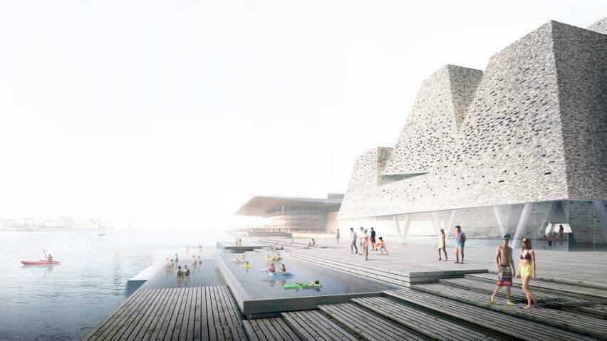 Utomhuspooler och pyramider – så blir Köpenhamns nya kulturcenter