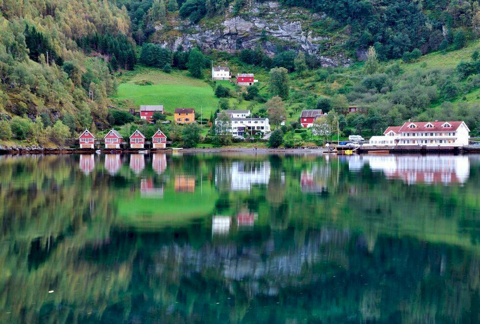5 vykortsvackra byar att besöka i Norge