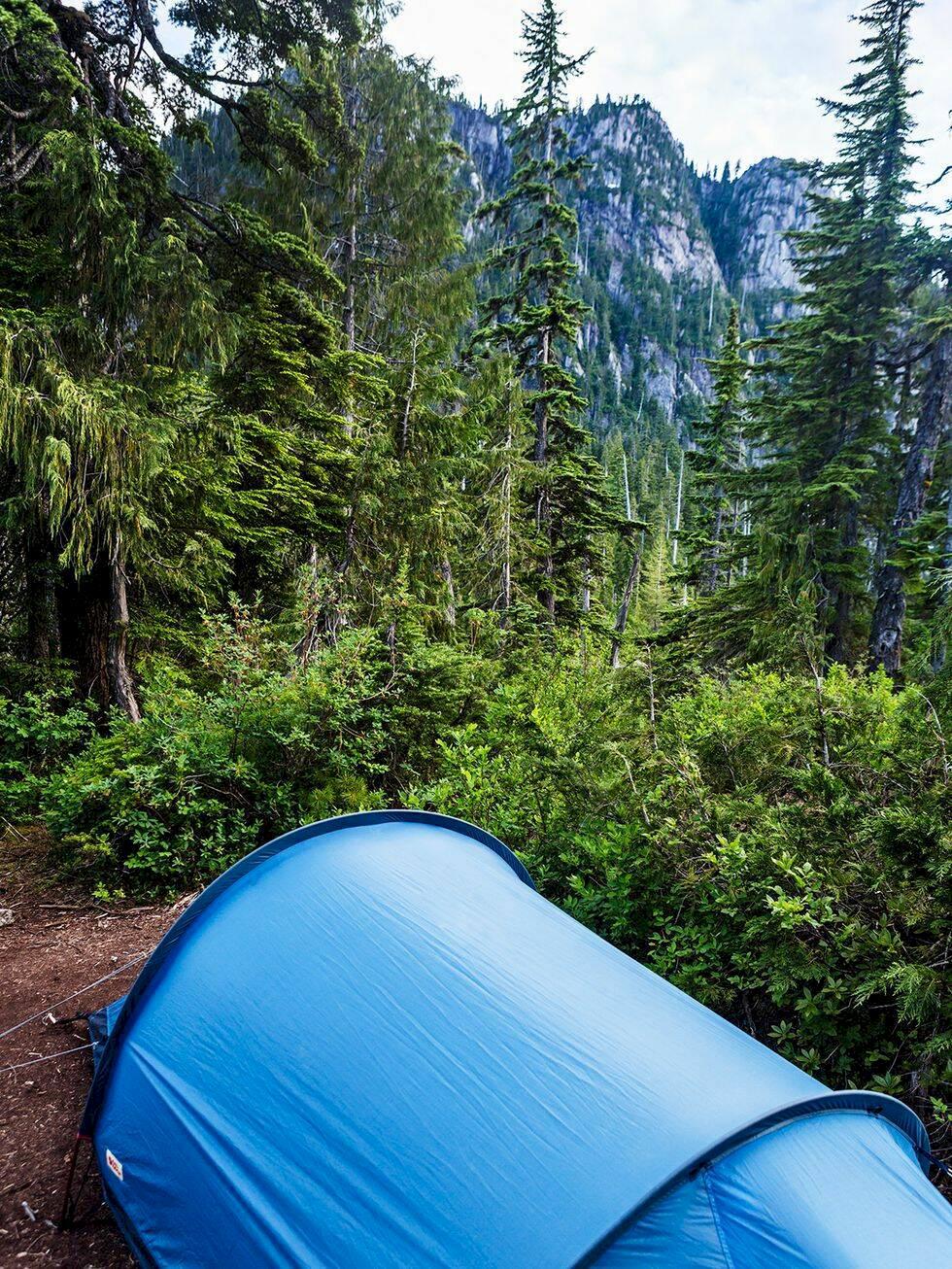 Vandring i Kanada – över stock och sten i Squamish
