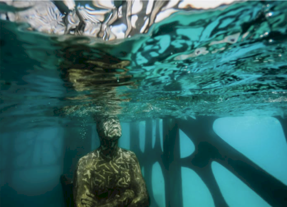 Maldivernas första undervattensmuseum har öppnat