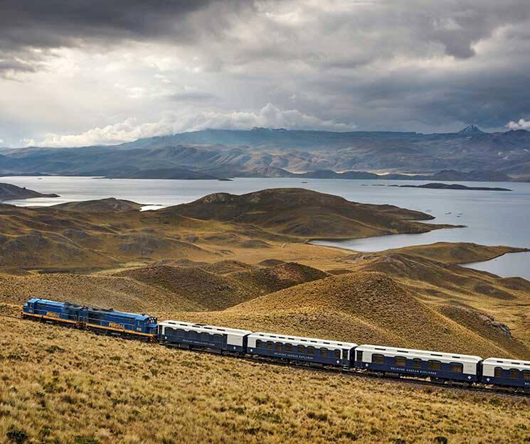 Peru: Spana in nya lyxtåget i Anderna