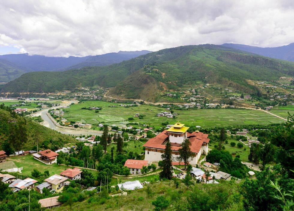 5 höjdare i Bhutan
