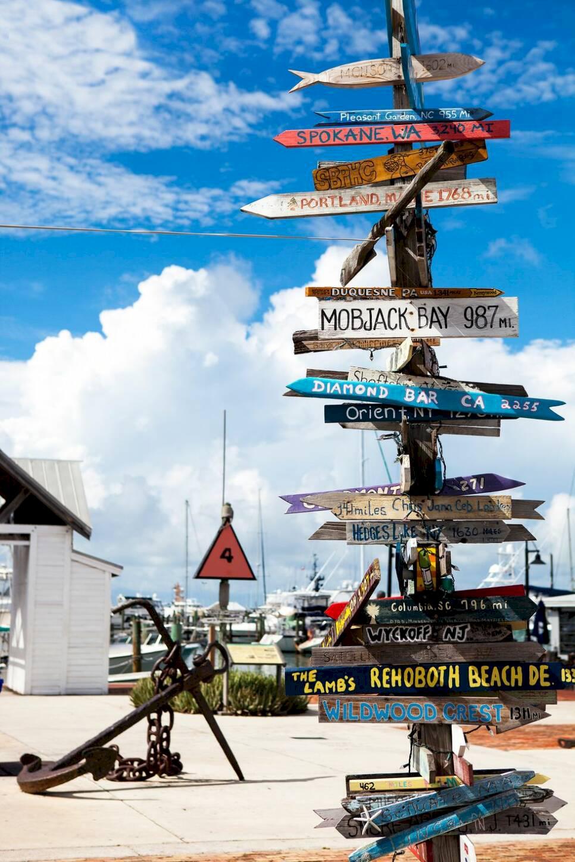 Florida Keys – bland storfiskare och skattletare
