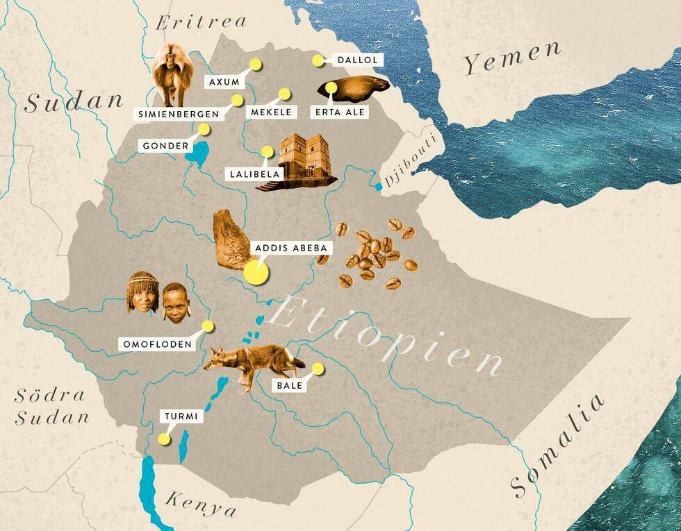 Guide: Etiopien