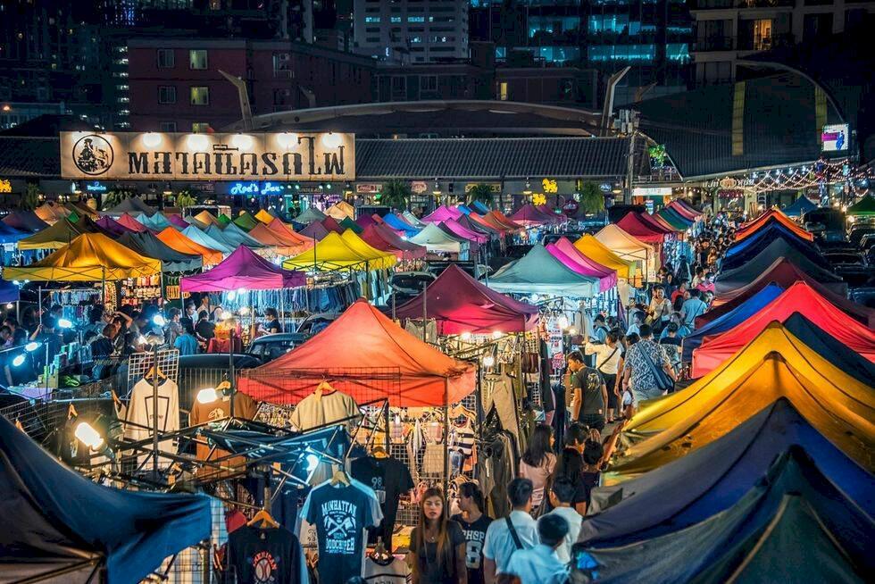 Guide: 5 coola marknader i Bangkok