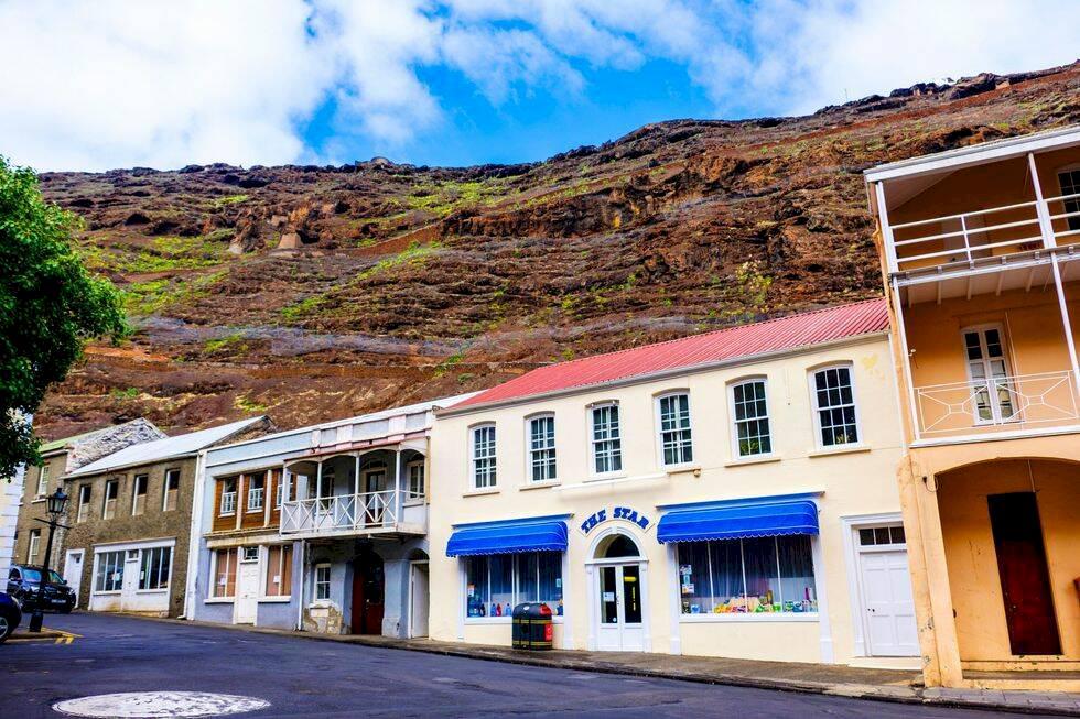 Nu blir det lättare att resa till Sankta Helena – avlägsen vulkanö i Atlanten