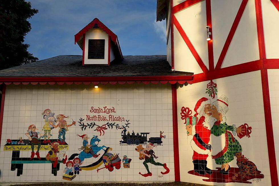 5 magiska platser där det är jul året om