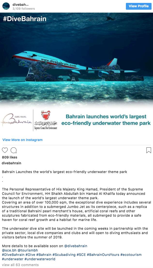 Världens största undervattenspark öppnar i sommar