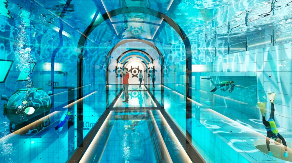 Det här blir den djupaste poolen i världen