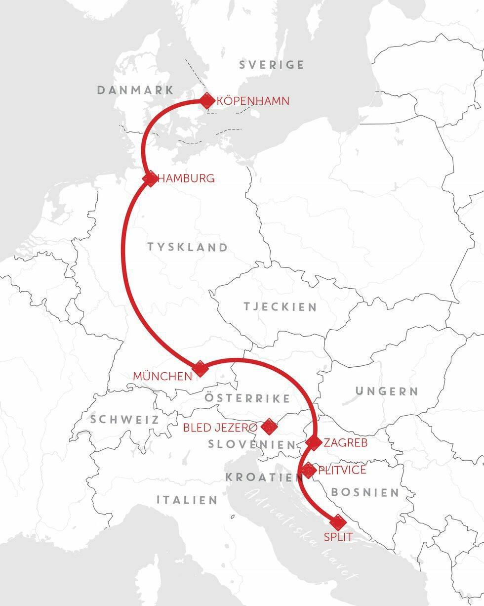 Tågluff i Europa – 6 episka rutter