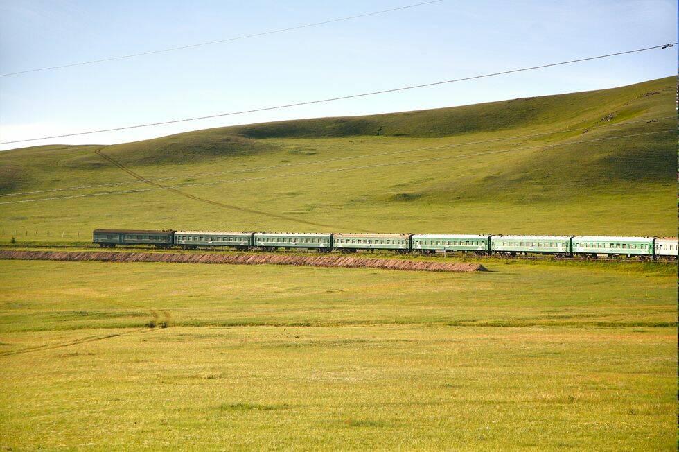 Resevloggaren tar tåget till Beijing: