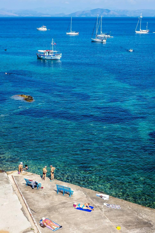 Roadtrip på grekiska smaragdön Korfu