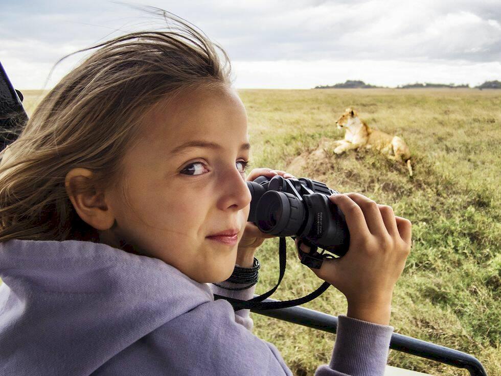 Tanzanias mäktiga natur och djurliv – ur ett barns perspektiv