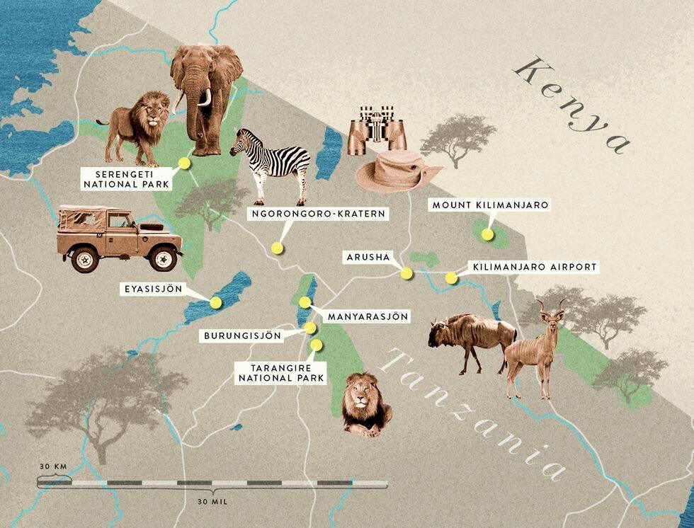 Guide till Tanzania – boende, safari och bästa tid att resa