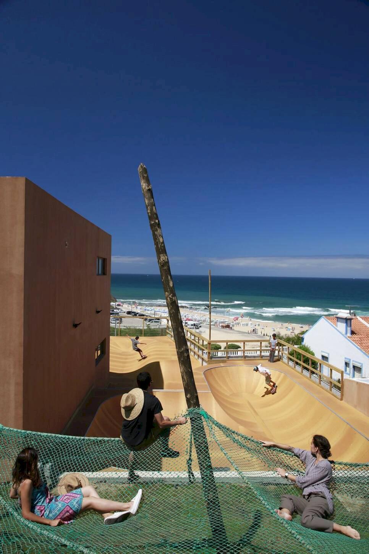 Portugals strandhotell för surf, yoga och vandring