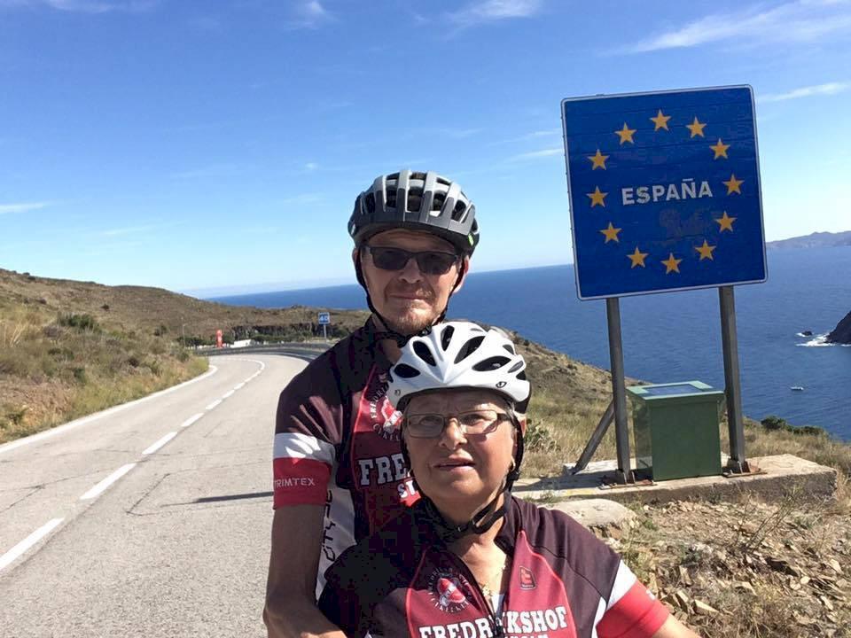 Möt pensionärerna som cyklade hela vägen till Spanien