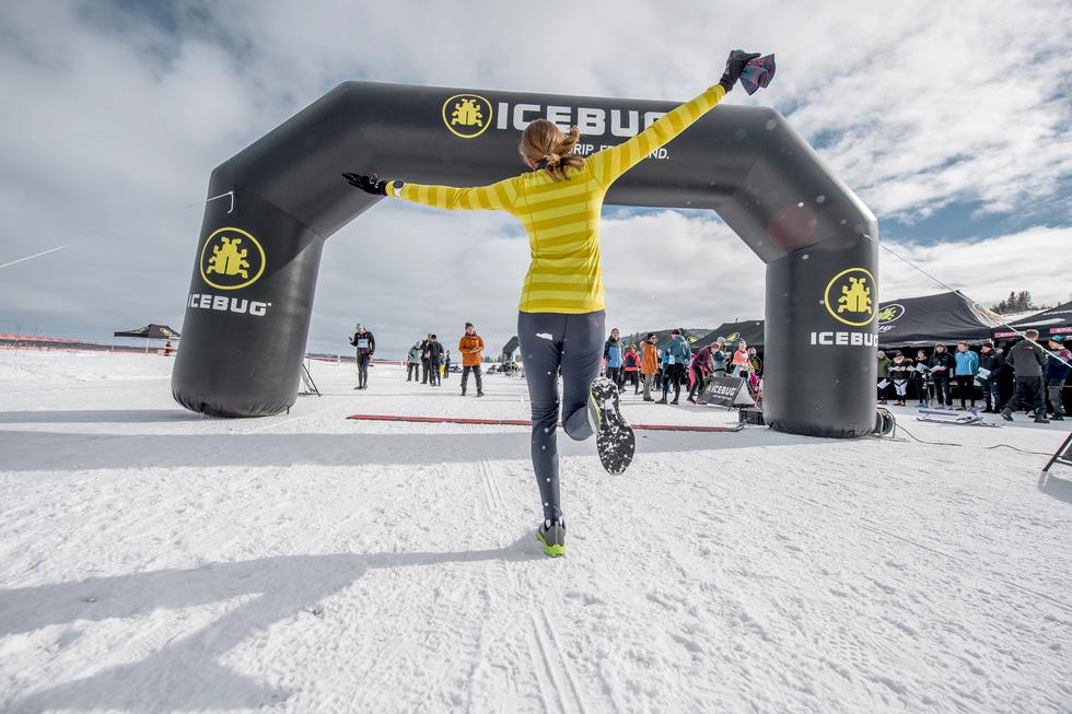Nya maratontrenden i Norge – spring på is