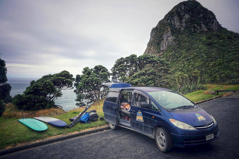 Vanlife – ett rullande äventyr i Nya Zeeland