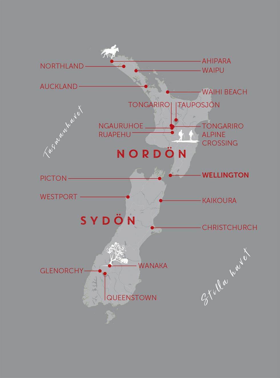 Guide: med husbil genom Nya Zeeland