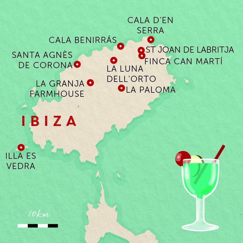 10 lugna favoriter på magiska Ibiza