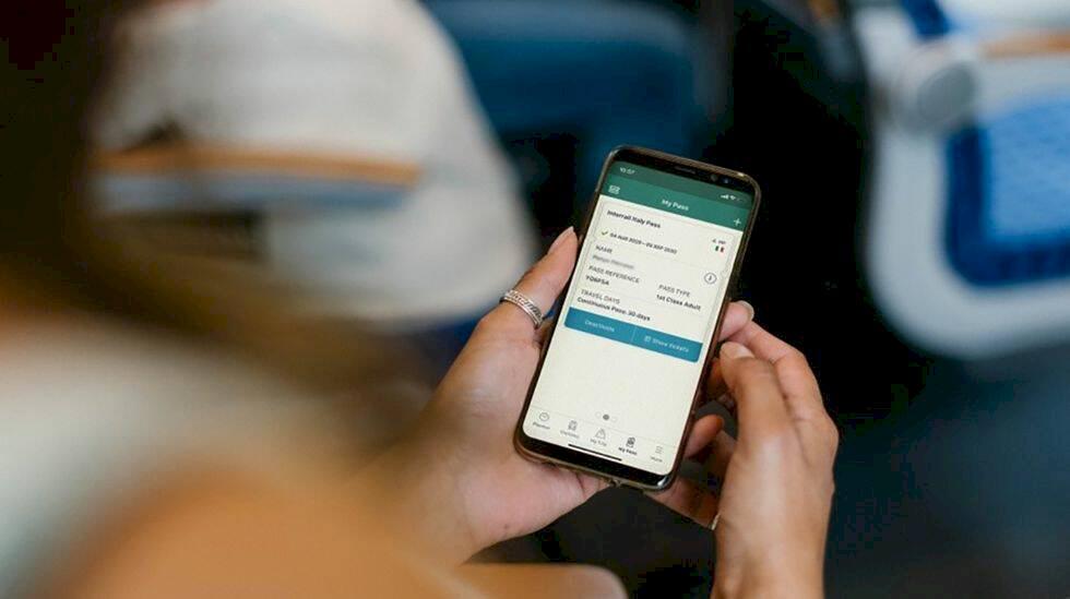 Interrail börjar med digitala tågpass