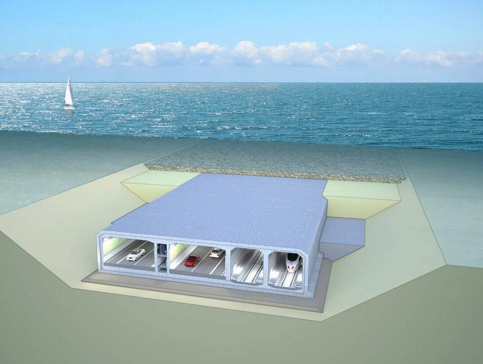 Ny megatunneln byggs mellan Danmark och Tyskland