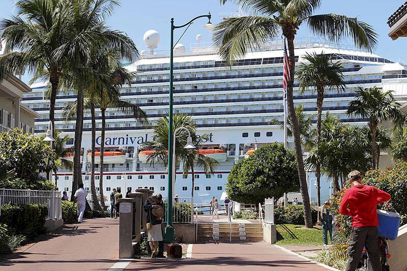 Key West inför striktare förbud mot kryssningsfartyg