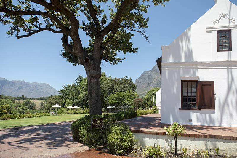 På ridtur genom Sydafrikas vackra vingårdar