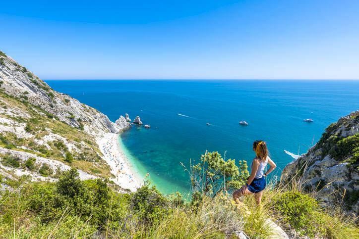 3 magiska kuster i Italien