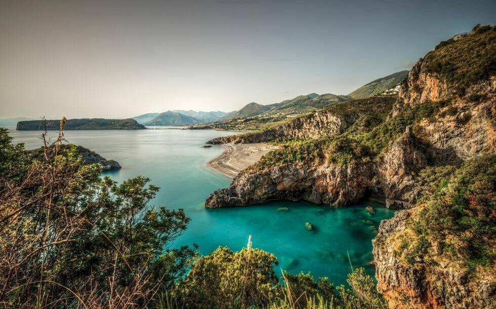 Ny vandringsled i Kalabrien i Italien