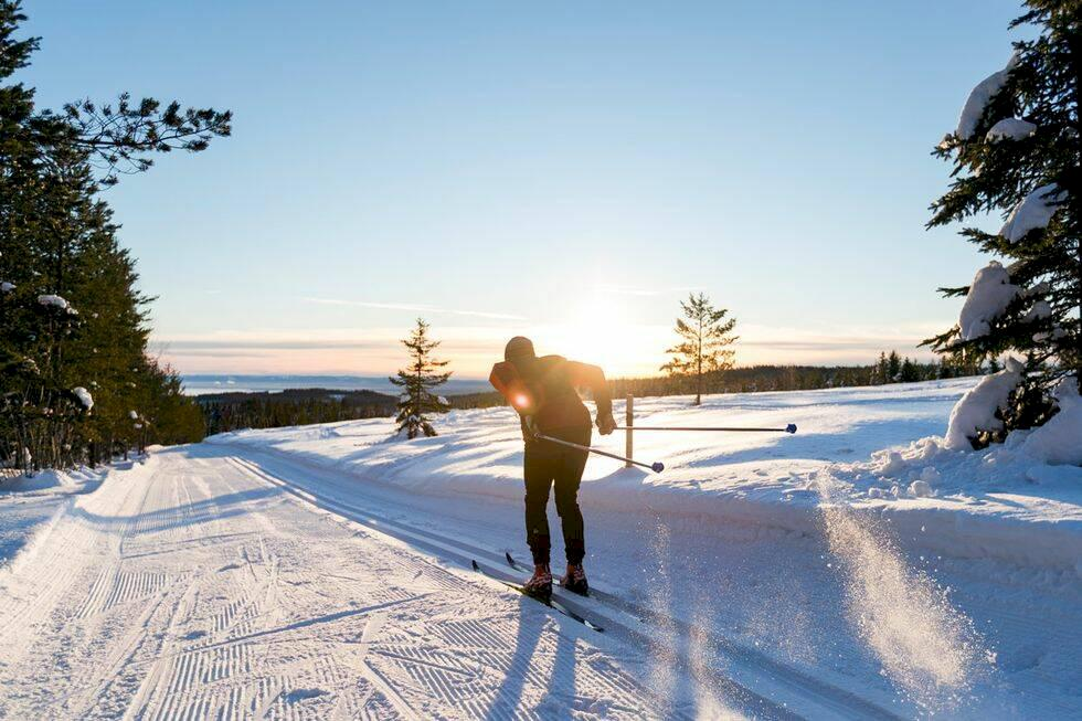 Här åker du vackrast längdskidor i Sverige