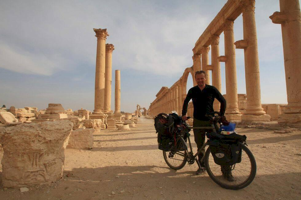 """101 länder på två hjul – """"jag har hittat hem"""""""