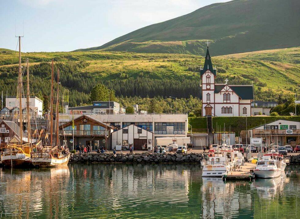 Isländska fiskebyn vill vinna en Oscar –