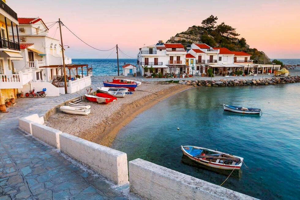 Öluffa i Grekland – ta båten mellan sju grekiska öar
