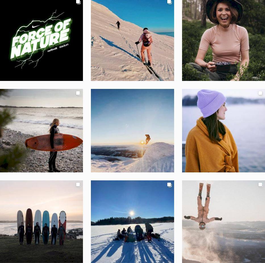 10 kvinnliga vagabonder att inspireras av på Instagram